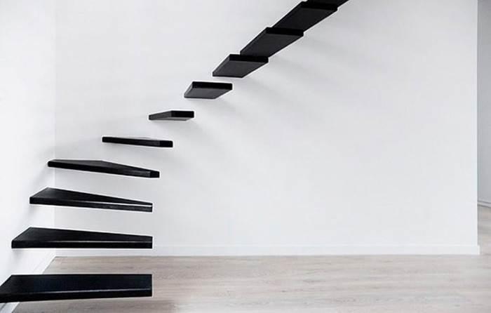 Красивые дизайнерские лестницы