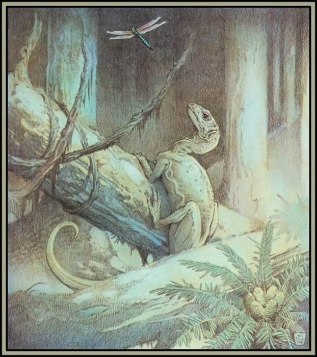 Художник William Stout - Динозавры
