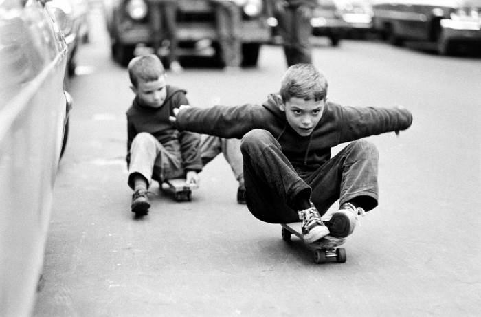 Фотограф Билл Эпридж - Американские скейтбордисты 60-х
