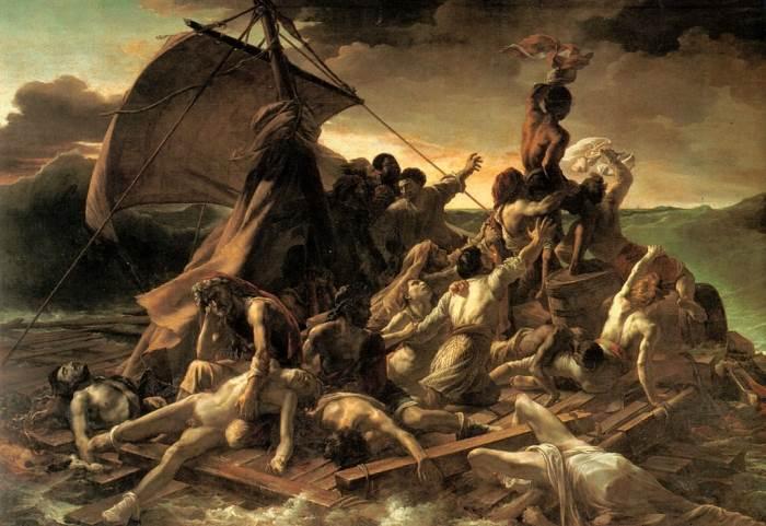 Плот Медузы картина Теодор Жерико