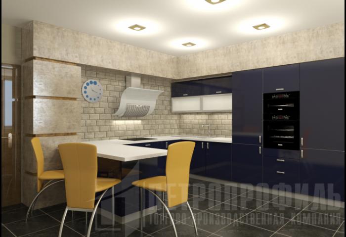 Поп-арт в интерьере кухни