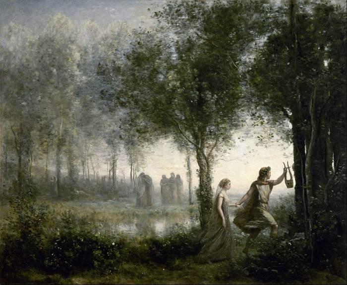 Картина Орфей и Эвридика