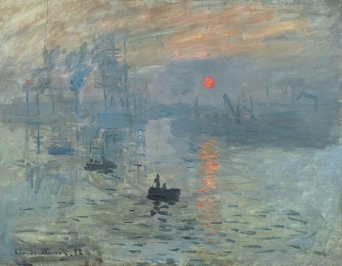 Впечатление. Восход Солнца картина Клода Моне