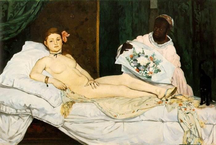 Олимпия картина Эдуарда Мане