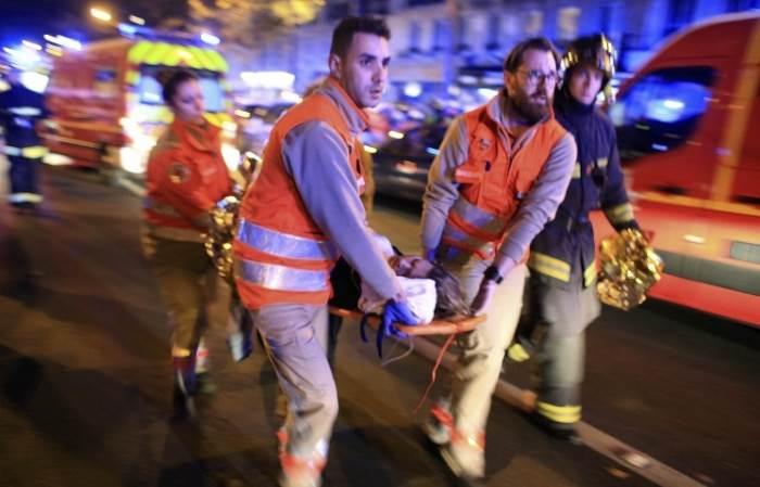 Теракты в Париже 13 ноября 2015 фото и видео