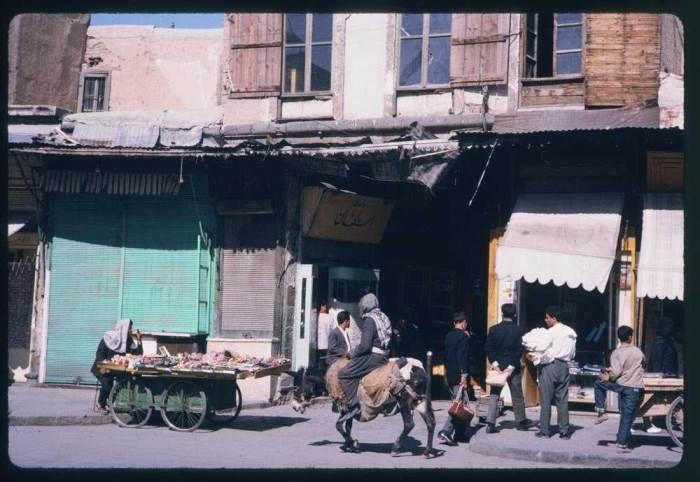 Дамаск в 60-е годы фото (Charles W. Cushman)