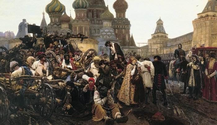 «Утро стрелецкой казни» картина Сурикова