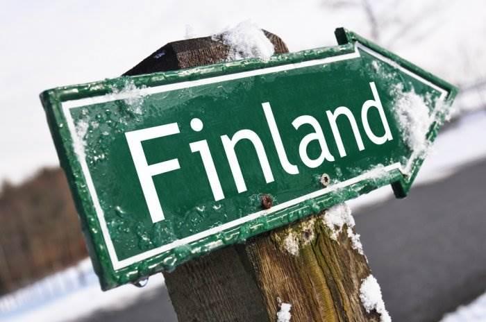 Указатель Финляндия