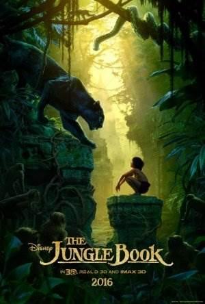 Книга джунглей 2016 постер