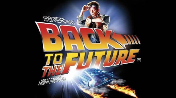 Назад в будущее постер