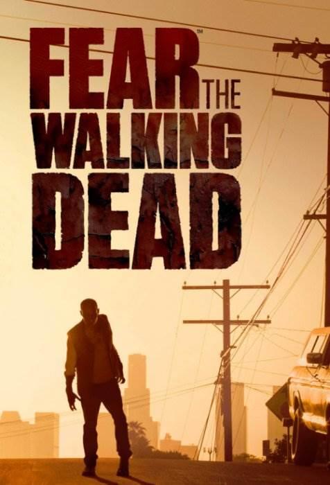 Бойтесь ходячих мертвецов постер