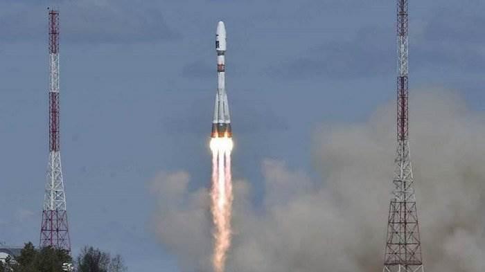 Запуск ракеты на космодроме «Восточный» 2016
