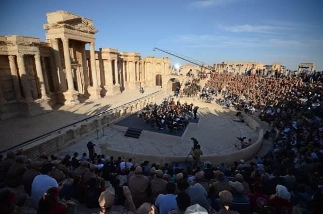 Концерт Гергиева в Пальмире
