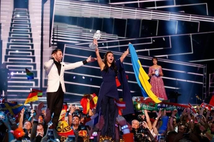 Джамала победительница Евровидение 2016