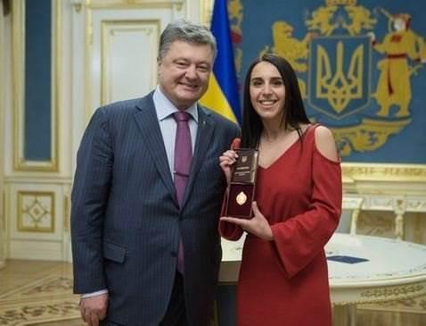 Джамала и Порошенко фото