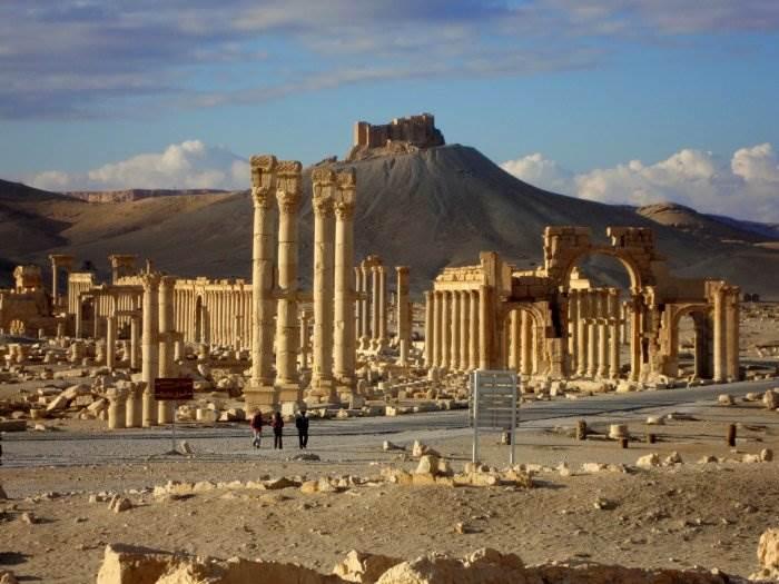 Сирийская Пальмира фото
