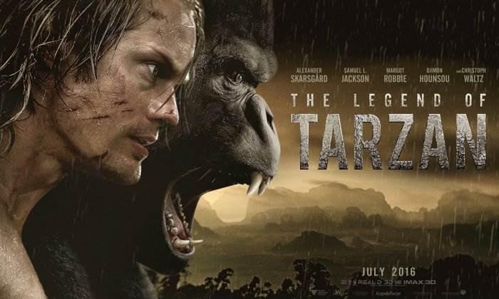 Тарзан фильм 2016 постер