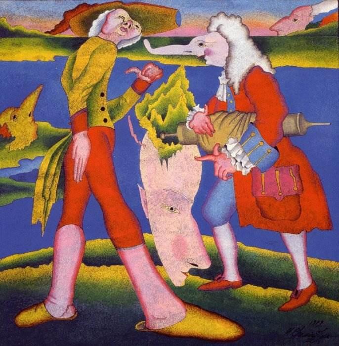 ... Михаил Шемякин картины, иллюстрации: art-assorty.ru/11303-mihail-shemyakin-kartiny.html