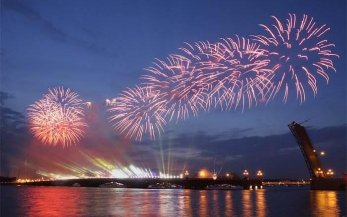 День России в Санкт-Петербурге фото