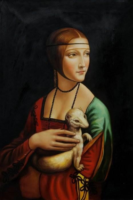 Дама с горностаем картина