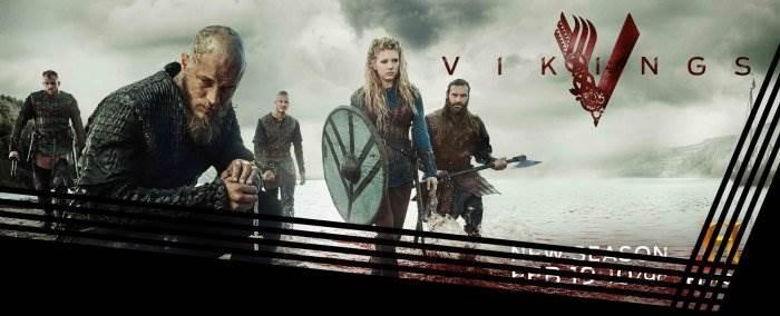 Викинги постер