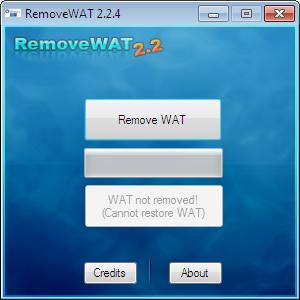 активатор RemoveWat скриншот