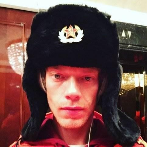 Альфи Аллен в Москве