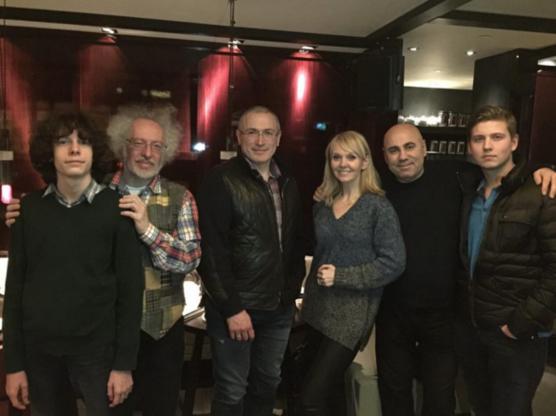 Пригожин и Валерия с Ходорковским