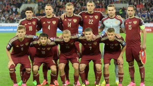 Сборная России по футболу фото