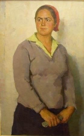 Г.И. Цейтлин «Портрет Героя Социалистического Труда С.А. Котовой»
