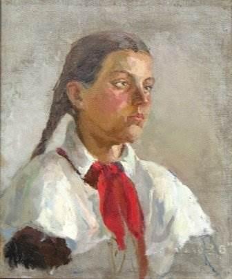 П.К. Лихин «Пионерка»