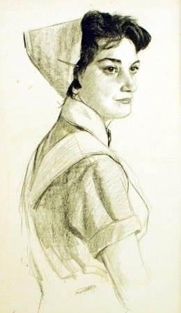 Н.Н. Жуков «Медсестра Люба»