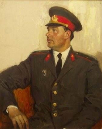 Ефанов В.А. «Портрет младшего лейтенанта милиции В.П.Коваля»