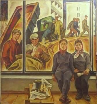 И.И. Симонов «Новый район»