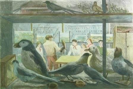 Д.И. Гольцман. «Дворец пионеров. Юные орнитологи»
