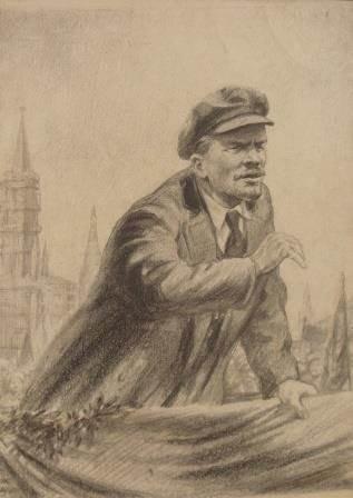 Н.Н. Жуков «Выступление на Красной площади»