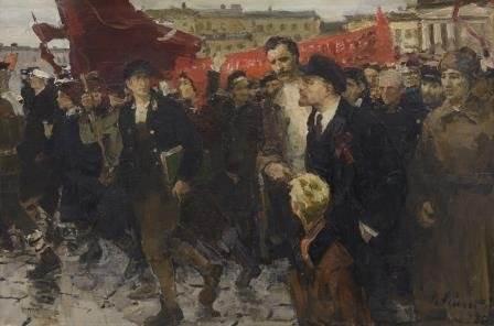 В.И. Рейхет «Ленин на Марсовом поле»