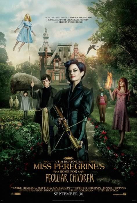 Дом странных детей Мисс Перегрин постер