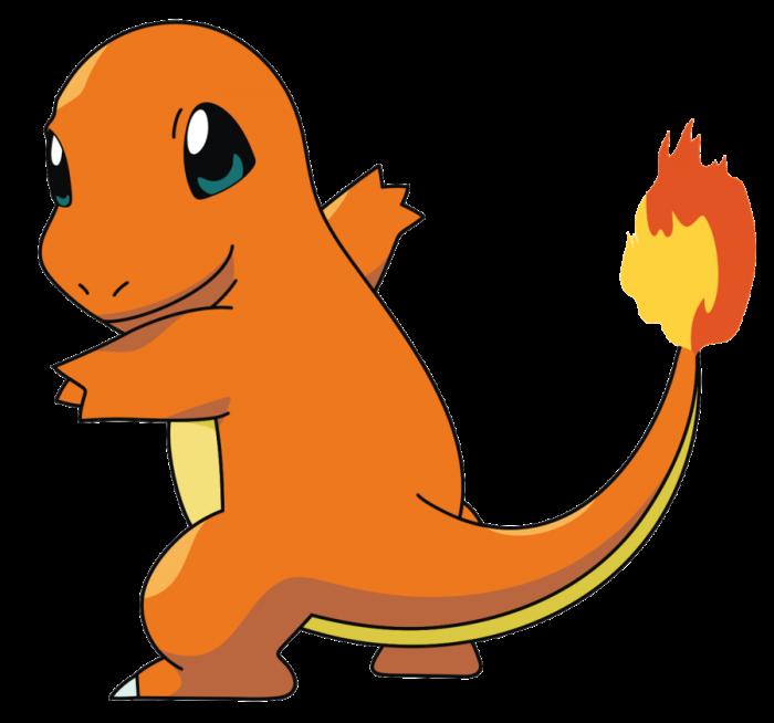 картинка покемона чармандер