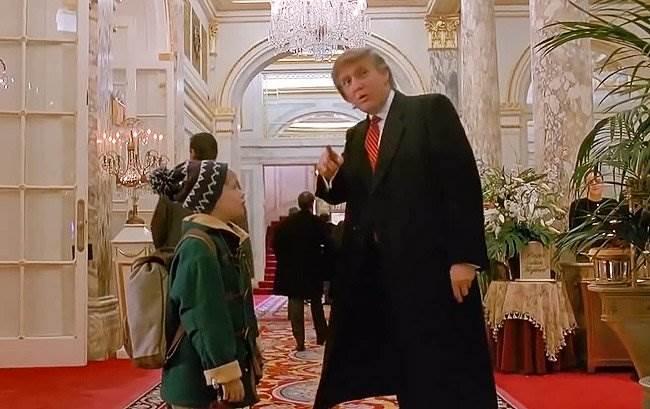 Д.Трамп в комедии «Один дома 2»