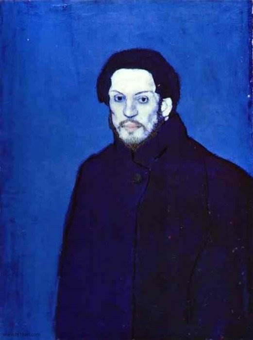 Автопортрет Пабло Пикассо 1901