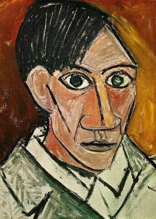 Автопортрет Пабло Пикассо 1907 г.