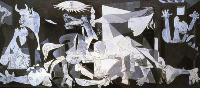 Картина Герника Пабло Пикассо