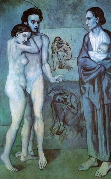 Жизнь картина Пикассо