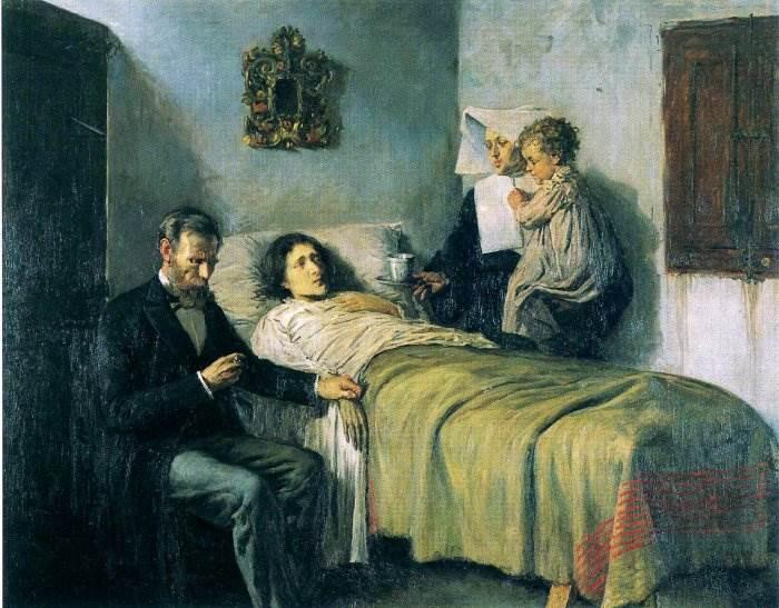 Знание и милосердие картина Пикассо