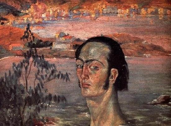Автопортрет с рафаэлевской шеей Дали