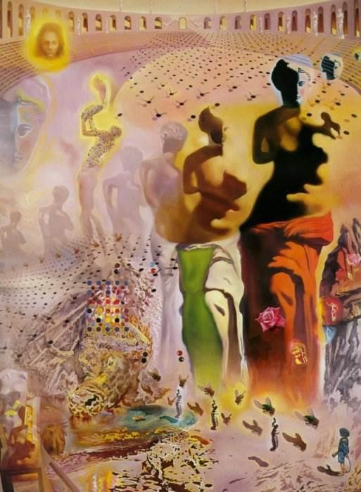 Галлюциногенный тореадор картина Сальвадора Дали