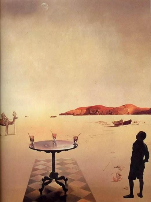Солнечный столик Сальвадор Дали