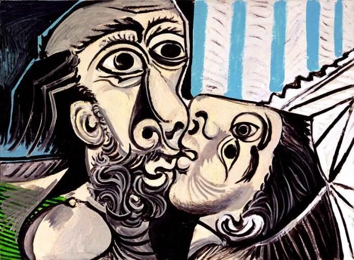 Картина Поцелуй Пабло Пикассо