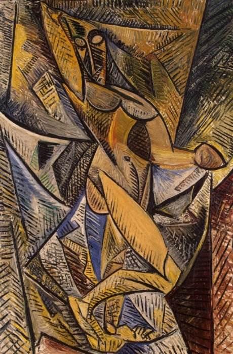 Танец с покрывалами картина Пабло Пикассо